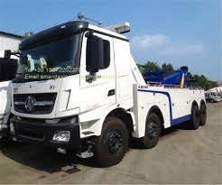 100 New Tow Trucks For Sale China Wrecker Manufacturer 8x4 Beiben Wrecker 60 Ton