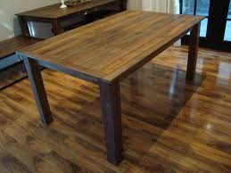 Image Of Diy Wooden Kitchen Table