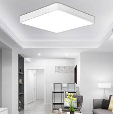etime 18w led deckenle kaltweiß eckig deckenbeleuchtung licht modern energiesparend möbeleinbauleuchte 6000k 6500k wohnzimmer schlafzimmer küche