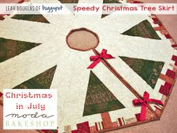 Bejeweled Christmas Tree Skirt Free Pattern And Templates By Susie M Robbins As Seen At Quilting Up A Creek PDF Download