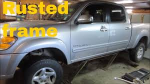 Toyota Tundra Rusted Frame Repair Update 2 Winters Later. - YouTube Look At This Totally Rustedout Toyota Tacoma Tundra Recalled For Frame Rust Nh Oil Undercoating To Pay 34 Billion Rusty Frames On And Vwvortexcom Truck Frame Recalls Still In Full Swing Rusted Lawsuit Recall Important Notice Problems 4runner Being Looked At By Feds Carcplaintscom 2005 Got Recalled The Now Getting An Entirely Wikipedia Jeep Wranglers Suspension Problem Consumer Reports Unibody Vs Body Whats Difference Carfax Blog 52009 Recall Letter Page 10 Nation Forum