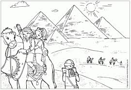 Ancient Egypt Colouring Pages Intended For Coloring To Inspire Color An Images