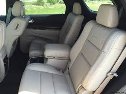2015 Dodge Durango Captains Chairs by Road Test Review 2016 Dodge Durango By Tim Esterdahl