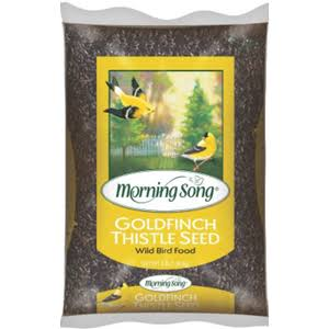 Morning Song Goldfinch Thistle Seed Wild Bird Food - 3lbs