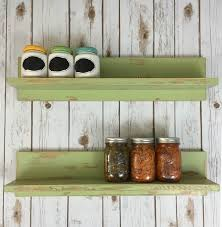 Rustic Floating Shelf Set