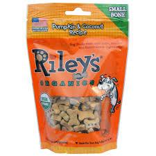 Pumpkin Rice For Dog Diarrhea by Riley U0027s Organics Dog Treats Small Bone Pumpkin U0026 Coconut Recipe