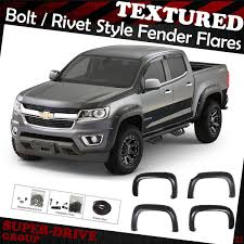 Textured Pocket-Riveted Fender Flares For 2015-2018 Chevy Colorado ... Certified Preowned 2015 Chevrolet Colorado 4wd Z71 Crew Cab Pickup Is Motor Trend Truck Of The Year Texas Fish Price Photos Reviews Features 4d In Richmond Amazoncom Images And Specs Vehicles Trail Boss Gets New Tires Pressroom United States Lt Ashland 132575 Roadster Shops Creates Incredible Prunner 2wd P8047 2016 Rating Motortrend
