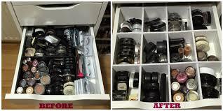 Makeup Storage Inspiration 1 Drawer Dividers feat Ikea Alex