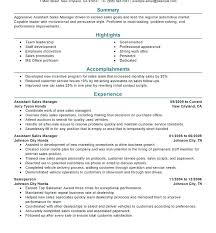 Sample Resume For Retail Jobs No Experience Sales Example