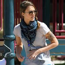 Jessica Alba Top 10 Best Female Celebrity Tattoos Trends For Inspiration