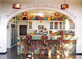 Diane Keatons Colorful Kitchen