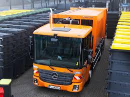 100 6 Wheel Mercedes Truck Benz Econic 235 24 FAUN Variopress Refuse 2013
