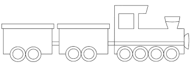 Coloring Pages Train Printable To Print On Page Caboose Large Size