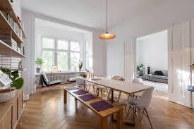 esszimmer einrichtung in großer berliner altbauwohnung 3