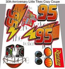Little Tikes Lightning Mcqueen Bed by New Replacement Decals Stickers For Little Tikes Cozy Coupe Ii