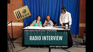 100 Road Dog Trucking Expediter Team SiriusXM Radio Interview With Dave Nemo