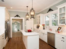 Light Blue Subway Tile by As Seen On Hgtv U0027s Fixer Upper This Gorgeous Cottage Kitchen