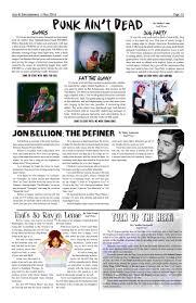 100 2 Rocking Chairs Jon Bellion Lyrics The Monarch May 016 By Archbishop Mitty High School Issuu