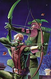 Connor Hawke And Oliver Queen As Green Arrows On The Cover To Arrow Secret Files Origins 1 December 2002 Art By Matt Wagner