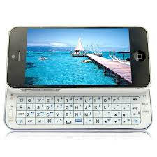 Slim Slide Out Keyboard Case for iPhone 5 5s