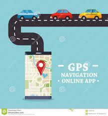 100 Truck Gps App Smartphone With Navigation Stock Vector