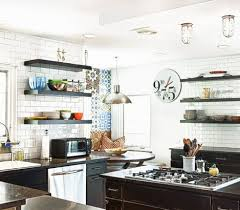 Eclectic Industrial Chefs Kitchen