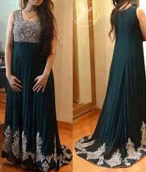 Pakistani Maxi Dresses Designs