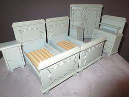 antikes schlafzimmer um 1930 6 möbel für die puppenstube