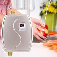 durchlauferhitzer küche haofy 230v 3800w mini durchlauferhitzer elektronische mit lcd anzeige konstante temperatur durchlauferhitzer für küche