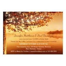 Rustic Fall After Wedding Invitation Post Or Reception Only