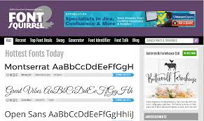 Font Squirrel Is The Go To Resource For Many Web Designers Who Seek Fonts That Are Licensed Commercial Use At Zero Cost Problem With Free