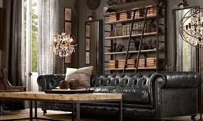 New Modern Rustic Industrial Modern Living Room