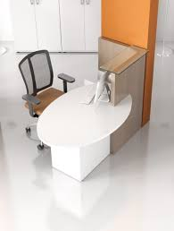 bureau accueil petit bureau d accueil compact novo pas cher delex mobilier
