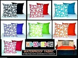 Waterproof Outdoor Pillows Cushions Scatter Cushion Covers