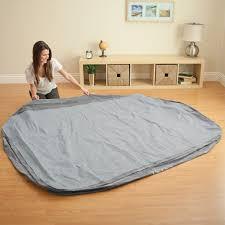 intex queen comfort plush elevated mattress air bed w built in