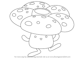 Learn How To Draw Vileplume From Pokemon Step By Easy