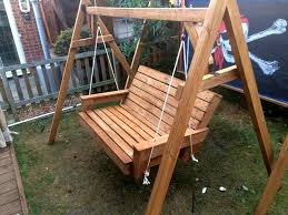 Diy Pallet Swing With Back DIY Pallet Swing Bed A The