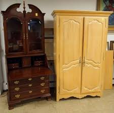 Jasper Cabinet Company Secretary Desk by Gallery Auction Tom Hall Auctions