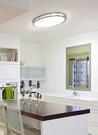 lb72132 led flush mount ceiling lighting oval antique brushed