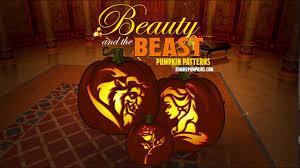 Maleficent Pumpkin Designs by Beauty And The Beast Pumpkin Patterns By Zombiepumpkins Com Youtube