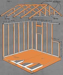 storage shed building plans zahradní domek pinterest