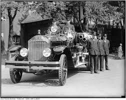 100 Black Fire Truck Vintage Photographs From Toronto
