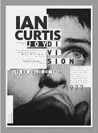 20 Unique Exhibition Poster Designs Ian Curtis Has Great Typography Via