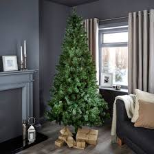 Slimline Christmas Trees 7ft by 7ft Woodland Classic Christmas Tree Departments Diy At B U0026q