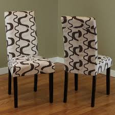 Marvellous Printed Wood Dining Chairs Engaging Furniture ...