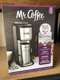 Image Is Loading Mr Coffee BVMC SCGB200 Single Cup Coffeemaker With