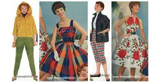 1950s Teen Girl Fashion Clothes Examples