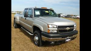 100 Chevy Dually Trucks USED CAR TRUCK FOR SALE DIESEL V8 2006 Chevrolet 3500 HD DUALLY 4WD