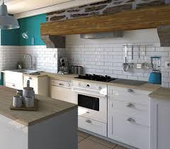 cuisine grise plan de travail bois crédence et plan de travail les bonnes associations côté maison