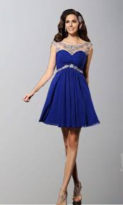 blue illusion short lace prom dresses uk ksp347 ksp347 87 00